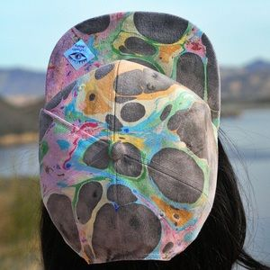 The Mazarine OOAK Wearable Art Unisex Snapback Hat
